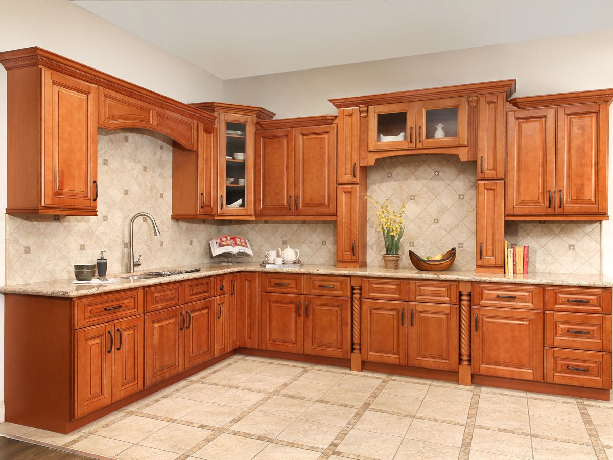 Parriott Wood Kitchen Cabinets
